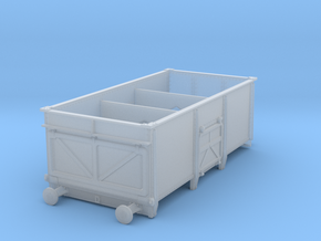 BR diagram 1/101 mineral wagon variant 3mm:1ft  in Smoothest Fine Detail Plastic