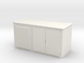 Electrical Cabinet 1/35 in White Natural Versatile Plastic