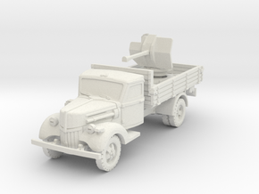 Ford V3000 Flak 38 early 1/72 in White Natural Versatile Plastic