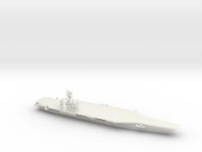 Nimitz-class CVN (CVN 68-70, 2017), 1/1250 in White Natural Versatile Plastic