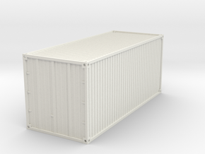 20 feet Container 1/48 in White Natural Versatile Plastic