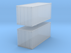 20 feet Container (x2) 1/285 in Smooth Fine Detail Plastic