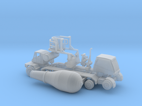 1/160 OshKosh Style Cement Mixer in Smooth Fine Detail Plastic