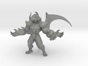 FinalFantasy Chaos Demon miniature DnD fantasy rpg in Gray PA12