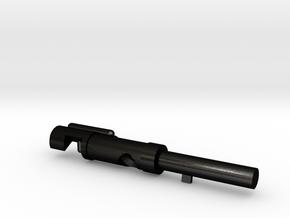 Pin_34.5mm in Matte Black Steel