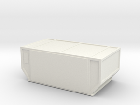 AAF Air Container (closed) 1/144 in White Natural Versatile Plastic
