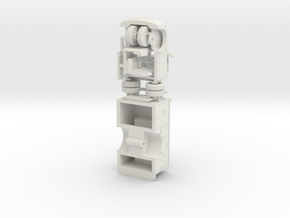 1/87 LA(ish) Paramedic V1  in White Natural Versatile Plastic