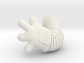 Chicken-Hand-L-dyna in White Natural Versatile Plastic