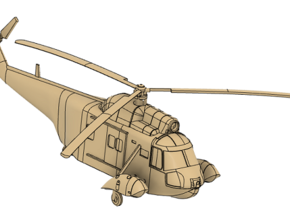 048A HH-52A Seaguard 1/144 in Smooth Fine Detail Plastic