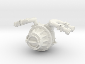 pump-3 in White Natural Versatile Plastic