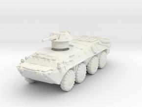 BTR-70 late 1/72 in White Natural Versatile Plastic