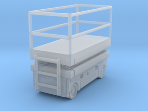 Scissor Lift 1/87 in Smooth Fine Detail Plastic