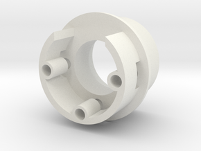 Hilt Connector Top (25.8mm) in White Natural Versatile Plastic