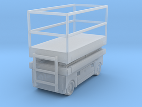 Scissor Lift 1/64 in Smooth Fine Detail Plastic