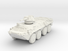 BTR-70 late IR 1/76 in White Natural Versatile Plastic