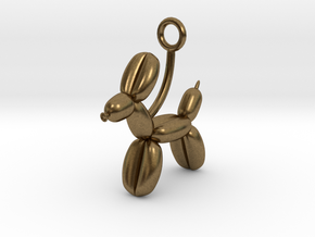 Balloon Animal in Raw Bronze