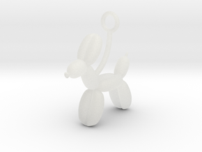 Balloon Animal in Smooth Fine Detail Plastic
