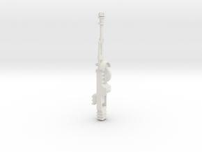 Star Wars POTF B-Wing Laser Cannons - Part 2 of 2 in White Natural Versatile Plastic