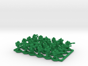 Infantry Squads (Night Vision) x24 in Green Processed Versatile Plastic