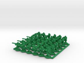 Alternate Infantry Army x36 in Green Processed Versatile Plastic