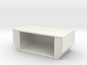 AAF Air Container (open) 1/100 in White Natural Versatile Plastic
