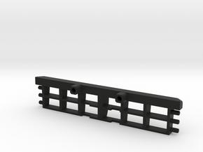 Hoonitruck authentic grill for LEGO Technic in Black Natural Versatile Plastic