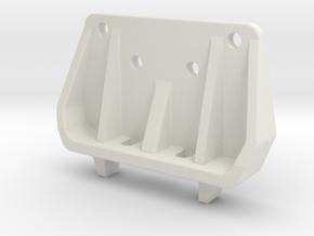 Tamiya DB / DS211x shocktower for CFK rear damper  in White Natural Versatile Plastic