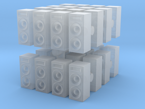 Stage Speaker (x32) 1/285 in Smooth Fine Detail Plastic