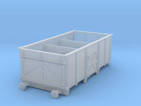 Hurst-Nelson 16t private owner coal wagon 3mm:1ft in Smoothest Fine Detail Plastic
