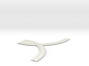 8 rad cross 8 rad in White Natural Versatile Plastic