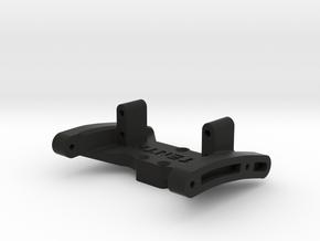 Twin Hammers Top Diff Mount - 74MM - Brazin Chassi in Black Natural Versatile Plastic