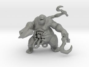 Abomination monster DnD miniature fantasy scifi in Gray PA12