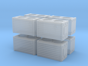 HEPA Air Filtration Unit (x8) 1/160 in Smooth Fine Detail Plastic