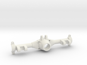 Make It RC 53mm MA10 Axle Housing Front 3-Link in White Natural Versatile Plastic