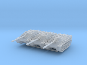 Jagdpanther early (x3) 1/285 in Smooth Fine Detail Plastic