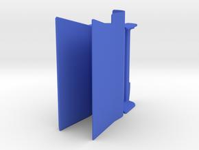 Right hand in Blue Processed Versatile Plastic