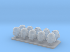 Space Dragons V7 Dragon Warriors Helmets in Smooth Fine Detail Plastic