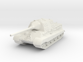 Jagdtiger 1/120 in White Natural Versatile Plastic