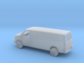1/160 2003-Present Chevrolet Express Panel Van in Smooth Fine Detail Plastic