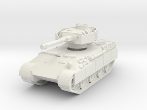 Bergepanther IV Sdkfz 179 1/100 in White Natural Versatile Plastic