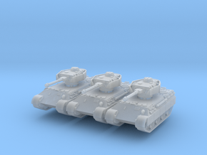 Bergepanther IV Sdkfz 179 (x3) 1/200 in Smooth Fine Detail Plastic