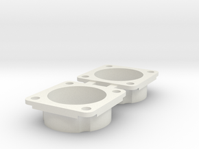 Schumacher cougar bearing retainer in White Natural Versatile Plastic