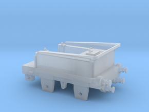 N Gauge SDR Sunbeam Tender in Smooth Fine Detail Plastic