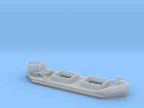 1/100th scale Ladoga Tender, armoured (wline) in Smooth Fine Detail Plastic