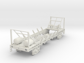 7mm PAA ICI Urea chassis in White Natural Versatile Plastic