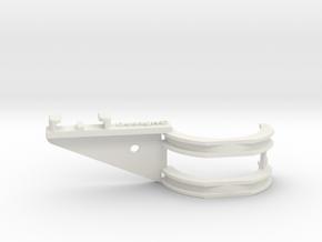 GoPro bracket for fork part 2 in White Natural Versatile Plastic