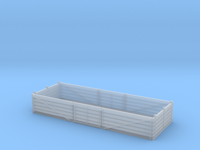 L&Y 5 plank fruit open wagon in Smooth Fine Detail Plastic