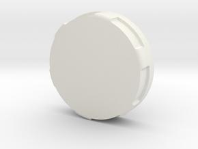 3M Respirator 6000 Series End Cap in White Natural Versatile Plastic