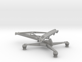 1:76 Class 86 Pantograph (in it's lowered position in Aluminum