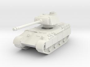 Panther A (schurzen) 1/76 in White Natural Versatile Plastic